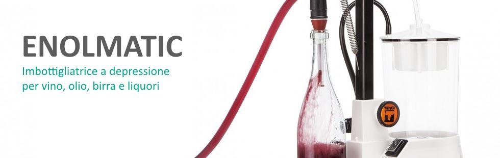 Riempitrice da banco Enolmatic vino beccuccio eco